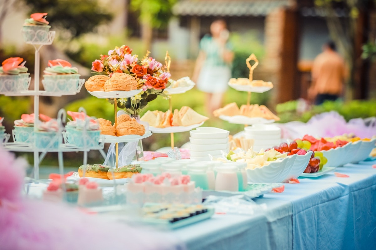 a spread of sweets