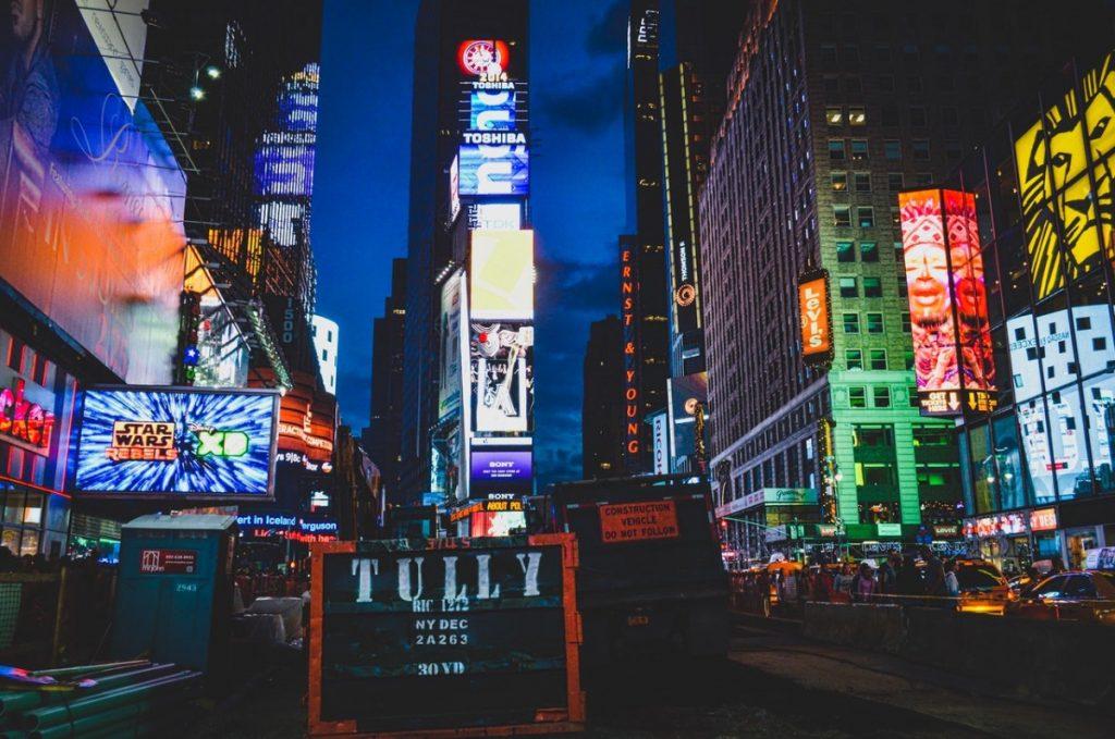 bright billboards